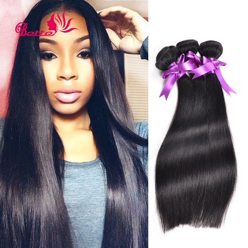 No Mix 4 Pcs/Lot Brazilian Virgin Hair Straight Human Hair Extension Rosa Hair Products Brazilian Hair Weave Bundles Very Soft