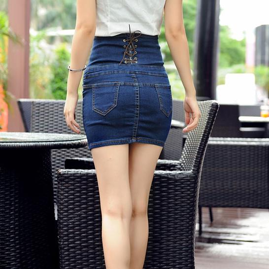Mini jupe sexy en jean