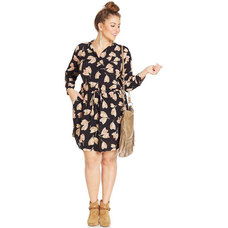 Fashion Dress spring summer 2016 womens sexy dresses Three ...