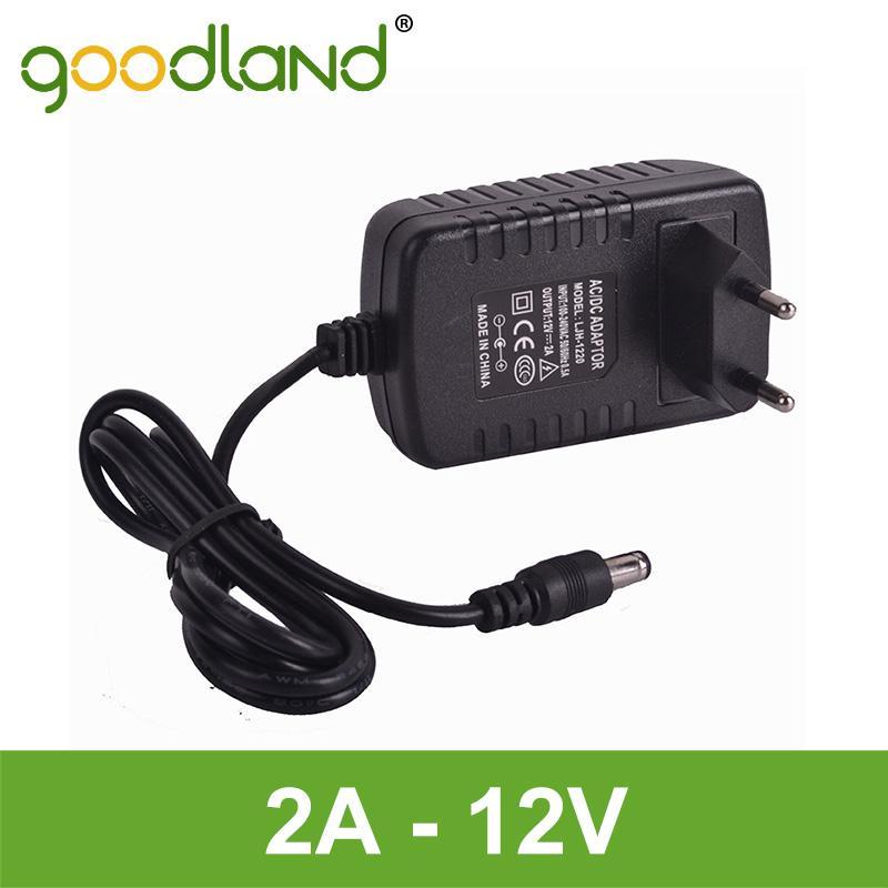 Goodland Brand 2A LED Strip Power Supply Transformer Power Adapter AC110V-240V to DC 12V High quality EU/US<br><br>Aliexpress