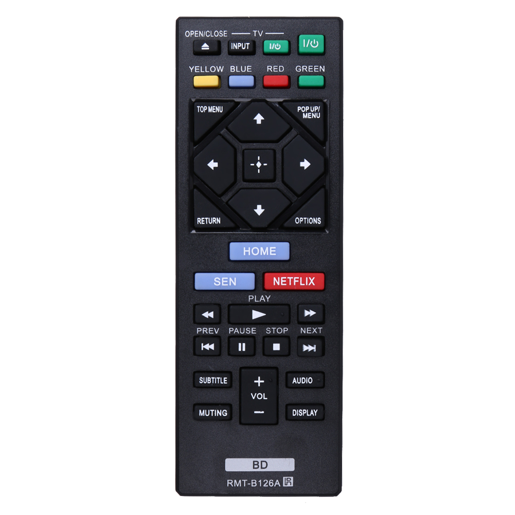 Replacement Promotion Universal TV Remote Control RMT-B126A for Sony BDP-BX520 BDP-S1200 BDP-S2200 BDP-S3200(China (Mainland))