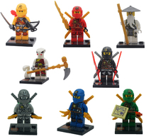 2016 New Decool Minifigures Cole Kai Jay Zane Ninja Building Blocks Weapon Gift Toys Compatible Legoe - Monny Baby store