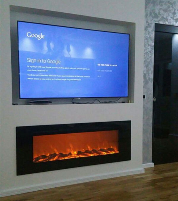 Online get cheap white electric fireplace - Muebles de chimenea ...
