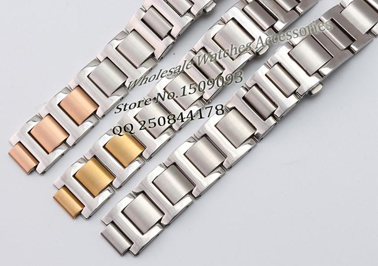 Бренд специальные выпуклые интерфейс замена ремешок 18 мм (ухо 11 мм) розовое золото серебро браслет из нержавеющей стали ремешок Бабочка