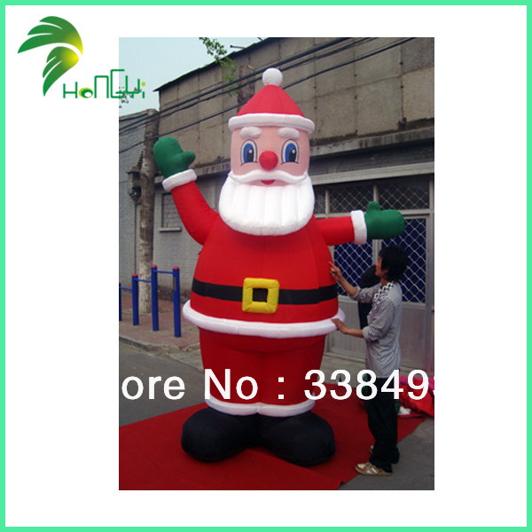 Inflatable Santa Claus Lowes Outdoor Christmas Decorations(China (Mainland))