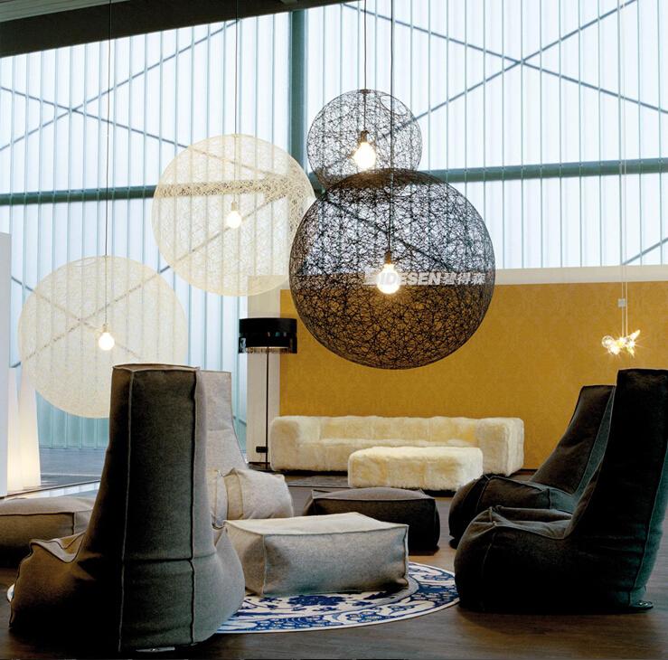 New Modern50/80cm  Moooi Random Round Ball Pendant Lights Designed By Bertjan Pot Home Lighting Lamp Fixtures E27  Bar Bedroom(China (Mainland))