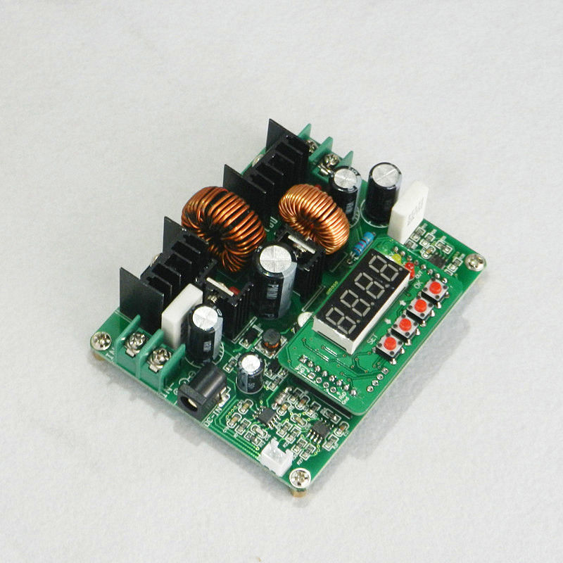 Digital DC Converter CC CV Power Module Led Driver Auto Step Up/Down 6A Max(China (Mainland))