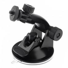 2016 nouvelle arrivée voiture DVR titulaires support véhicule ventouse connecteur à vis de Base pour Gopro vidéo DV Hero 3 + 3 2 1 caméra stands