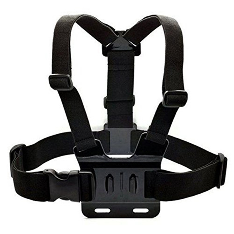 Action Camera Gopro Accessories Adjustable Chest Belt Strap Chest Mount for SJCAM GoPro Hero 3/4 Xiaomi Yi Sport Cam