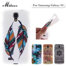 Fashion Painted Pattern TPU Silicone Soft sFor Samsung Galaxy S4 Case For Samsung Galaxy S4 I9500 Cell Phone Back Cover Case(China (Mainland))