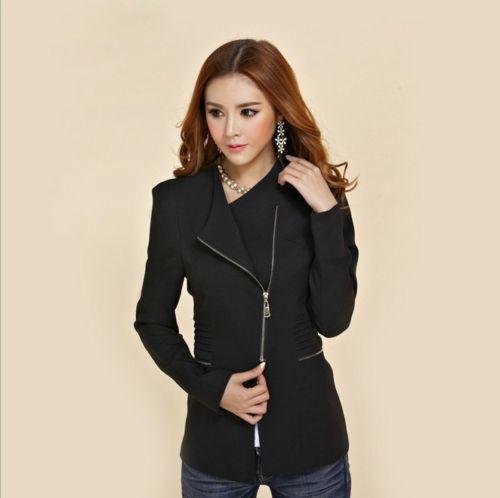 3 Colors 2015 New Design women's long-sleeve short winter jacket zipper jackets female coat woman's clothing outwear(China (Mainland))