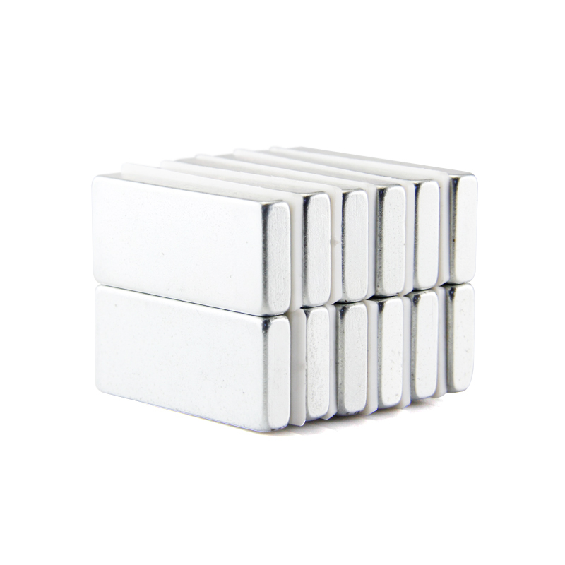 Гаджет  Free shipping neodymium magnet block 2pcs 35x15x5mm n50 rare earth strong magnets nickle None Строительство и Недвижимость