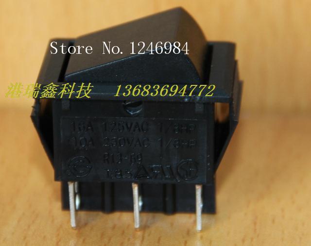 [SA]Power switch R13-69C Taiwan New SCI Rocker six foot dual big black rocker switch--50pcs/lot<br><br>Aliexpress