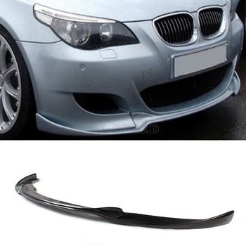CARBON FRONT BUMPER LIP SPOILER FOR BMW E60 M5 BUMPER 2006-2010