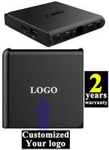 1 unids Android6.0 cajas TV IPTV Personalizado 2 años de garantía 4 K Amlogic KODI16.1 A53 S905x 2 GB/16 GB T95x