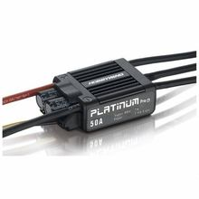 Free shipping Hobbywing Platinum V3 50A ESC for Align 450L X3 RC Helicopter