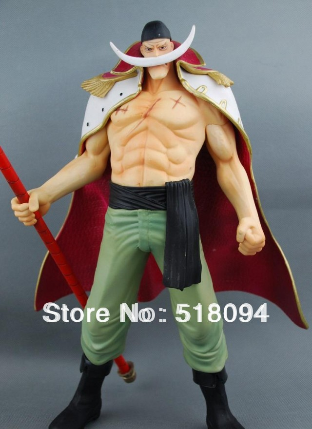 Free Shipping Japanese Anime One Piece POP Edward Newgate PVC Action Figures Toy 35cm OPFG029<br><br>Aliexpress