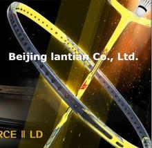 New Arrived Hot 1piece VT Z-FORCE II LD badminton racket,VT-ZF II LCW the thinnest shaft badminton racquet, 3U and 4U JP version(China (Mainland))