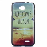1PCS  Painted Cute PC Cover Case for  LG Optimus L70 D320 D325 CASE For LG L70 case