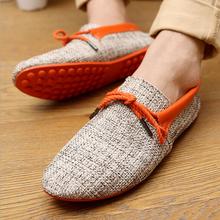 Nuovo 2015 di modo di alta qualità scarpe da uomo estate traspirante tessitura sneakers uomini casual sneakers lace-up appartamenti mocassini, vendita calda(China (Mainland))