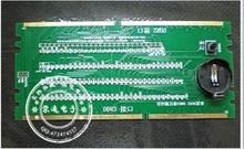 1PCS DDR2 DDR3 illuminated with light tester tester combo desktop(China (Mainland))