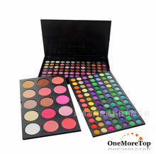 Explosion models! 183 color eye shadow, blush, trimming powder composite disc, makeup set(China (Mainland))