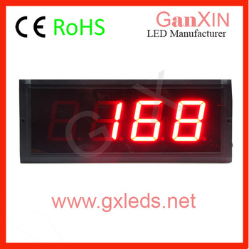 3 inch 4 digits 7 segment led counting system