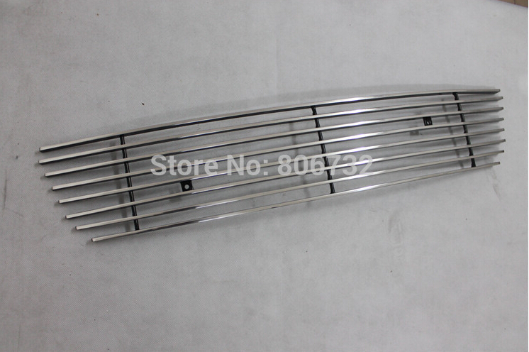 stainless steel Front Grille Around Trim Racing Grills Trim for Honda Accord 2008 2009 2010(China (Mainland))