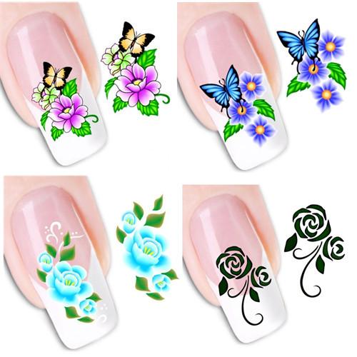 Наклейки для ногтей Leslie's store 50 DIY xf1051/1100 XF1051-1100 кисточка для ногтей yifu store 1 2ways diy nao10