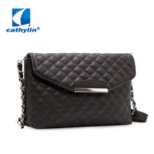 2015 promotion brand new women messenger bags leather shoulder handbags hot sale lady famous branded chain crossbody bags