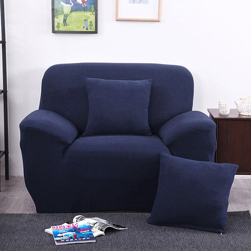 Arm chair one seater sofa cover slipcover stretch lounge for One armed couch name