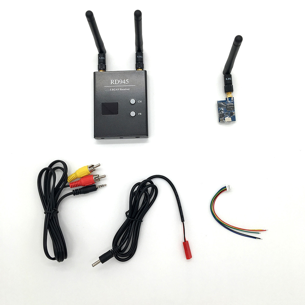 Newest Car Video Backup Camera System 32CH 600mW TX58-600 Wireless AV Transmitter 5.8G RD945 Receiver for FPV Aerial Photography(China (Mainland))
