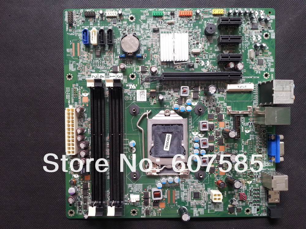 For Dell Dimension XPS 8300 Mainboard/Motherboard -Y2MRG LGA1155& 100% Tested+Free Shipping(China (Mainland))