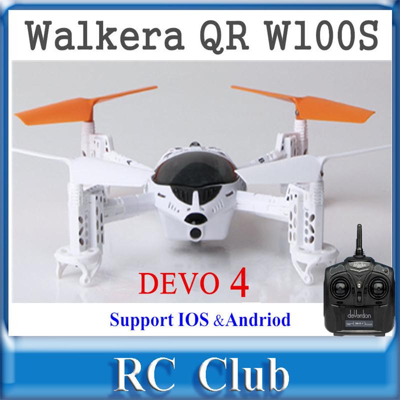 Walkera QR W100S With DEVO 4 Remote Control WIFI RC FPV Drone Quadcopter RTF 2.4Ghz Support IOS/Andriod System<br><br>Aliexpress