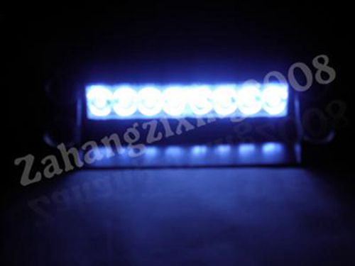 8 Led Flash Boat Truck Car Flashing Warning Emergency Windshield Unit 3 Mode Police Strobe Light Lamp Blue Red White Amber - Online Store 437811 store