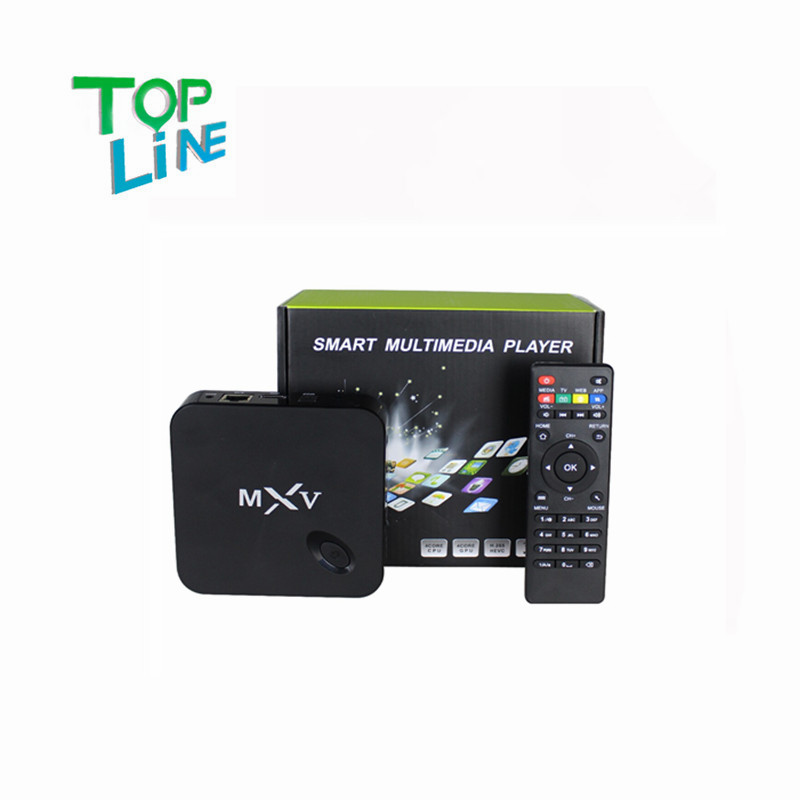 2ps MXV tv box,Smart tv box, android tv box,Kodi Pre installed Amlogic S805 Quad Core Android 4.4 better than mxq cs918,Q7,mk888(China (Mainland))