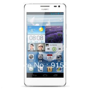Huawei Ascend D2 quad core 5 inch GSM CDMA2000/ WCDMA mobile phone 1920x1080 screen 2G ram 16G / 32G mobile phone