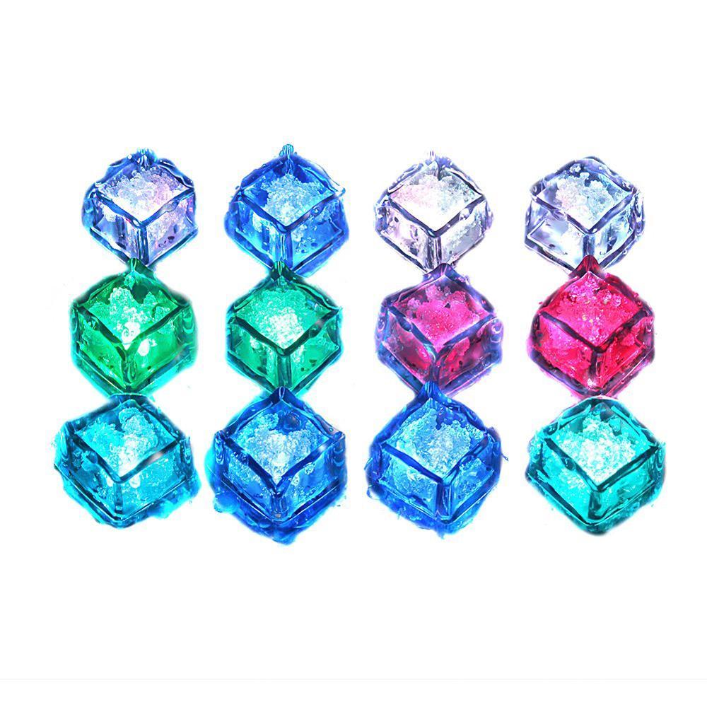 hot sale! Water Submersible Decorative LED Ice Cubes(China (Mainland))