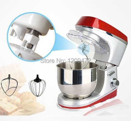 Гаджет  Multifunction Small home use flour mixed machine Upgraded version blender machine 6L 1200W 220V A-418 None Бытовая техника