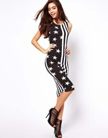 Limited Time-limited Freeshipping Party Dresses Evening Party Sleeveless Slim Women Dress