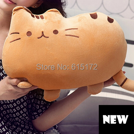 Cheap Kawaii Cute Japanese Style White Black Lucky Cat Toy Pillow Soft Plush Kitty Doll Baby Girl Girlfriend Birthday Gift - Funny Bunny's Sweet Store store