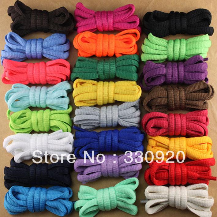 Гаджет  Semi-cirle 24 Color Shoelaces Multicolour Casual Shoes Laces white shoelace black shoelace 1.2m None Обувь