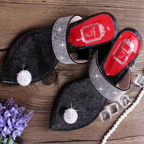 Free Shipping 2015 Sheepskin Women's summer Flats shoes Rhinestone Mixed Colors sandals & Flip Flops for women(China (Mainland))