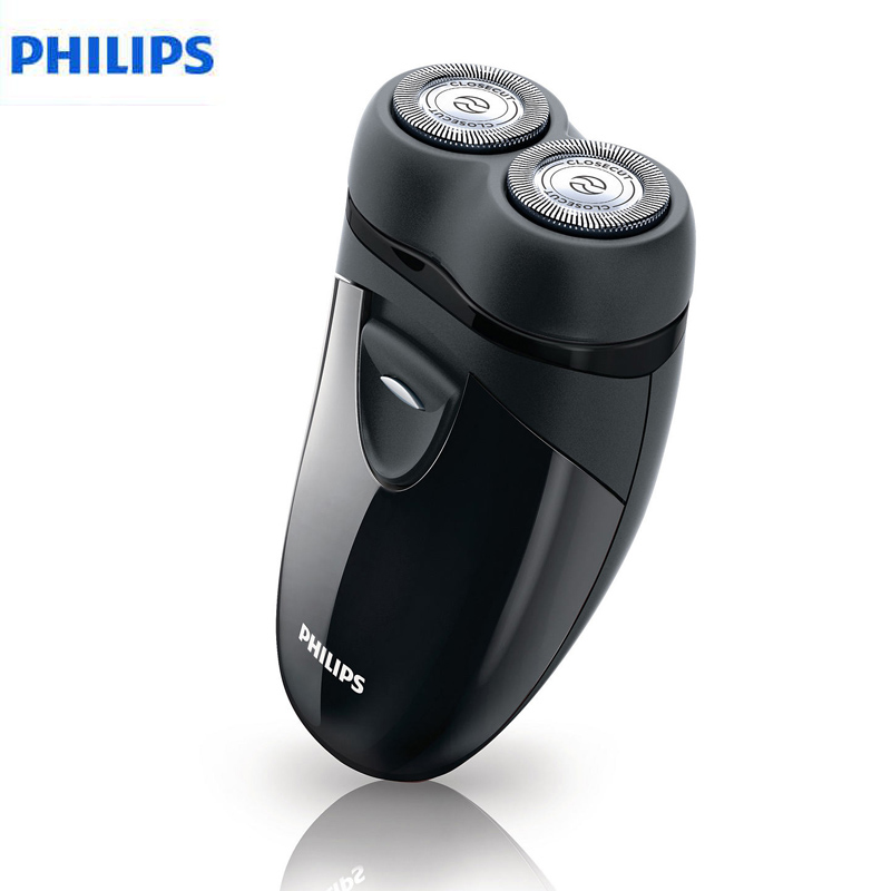 Philips Electric Shaver PQ203 Safety Razors for Men Clean Shave for Confidence 2 AA Dry Batteries(China (Mainland))