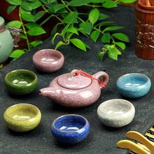Buy 7 Pcs,Purple pot,calvings glaze tea set kung fu cup, suit Puer, Black Tea,Tieguanyin,Green Tea,White tea for $66.00 in AliExpress store