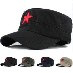2015 Fashion Military Caps Summer Embroidery Red Star Baseball Cap Hat For Men Women Adjustable Outdoor Retro Snapback Hats Gift(China (Mainland))