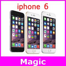 Original Factory Apple iPhone 6 16GB 64GB 128GB Cell Phones Unlocked Dual Core 8 MP Camera 4.7 Inch WIFI GPS Free Shiping(China (Mainland))