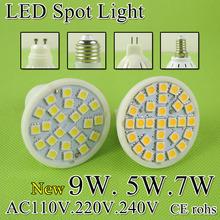 A++Bright MR16 LED Lamp LED Spotlight 5W 7W 9W Bombillas E27 E14 GU10 GU5.3 Spot light Lampada LED Bulb E27 110V 220V Lampara(China (Mainland))