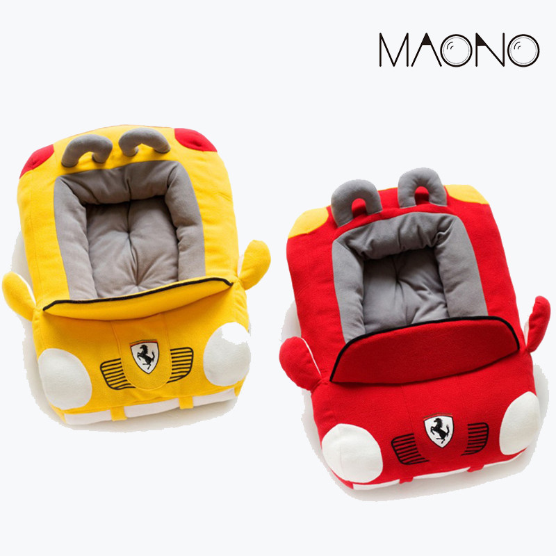 MAONO Warm Cotton Bed Mat Soft Cat Dog House Nest Short Plush Puppy Waterloo Car Beds Shape Pet Products for Kennel Accessories(China (Mainland))