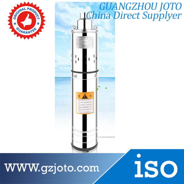 Oil Filling Type AC Submersible Pump 220V Water Pump With 13meter Core Model:QGD-1.4-55-0.37(China (Mainland))